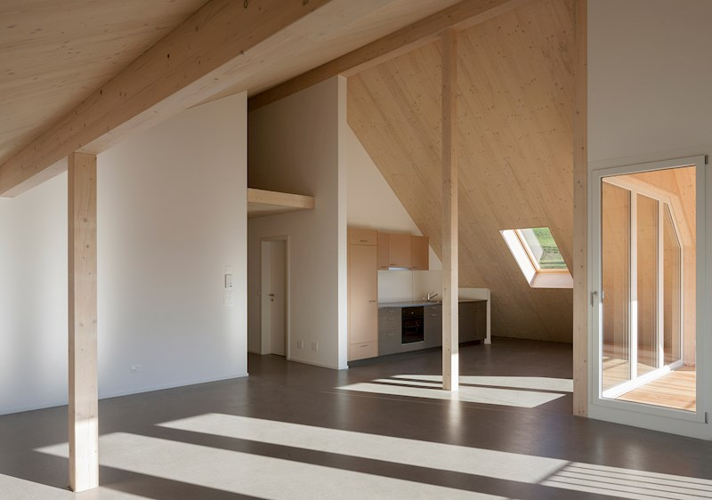 Blum + Grossenbacher Architekten schaerholzbau Rey Schreinerei